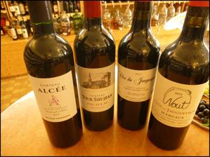 So, jetzt haue ich mal ein paar Bordeaux raus…