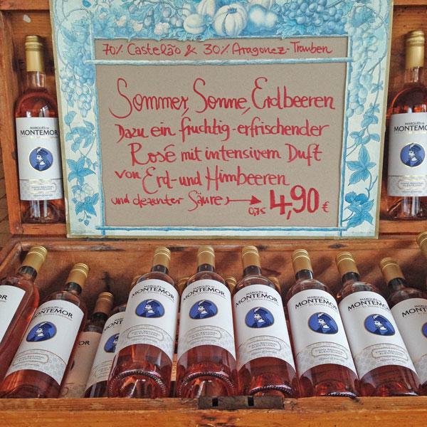 Sommer – Sonne – Erdbeeren und Rosé
