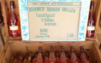Echt lecker Rosé …